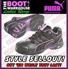 Puma Work Shoes 642887. 'Miss Safety' Stepper. Steel Toe Cap Safety. Anti-Slip!