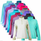 Berghaus Spectrum Women's Micro HZ Fleece Half Zip Pull Over Jumper 15 Colours