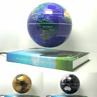 "US Rotating Magnetic Levitron Levitation Floating 6"" Globe Map Green Earth Book"