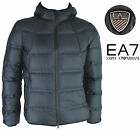 Emporio Armani EA7 Mens Down Jacket blue 271680 new collection winter 2016