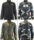 NEW MEN'S THE NORTH FACE THERMOBALL FULL ZIP INSULATED JACKET STYLE C762 BLACK