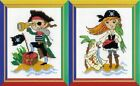 Riolis-Happy Bee Stitch Pattern-2 designs-Choose from -  Pirate or Treasure