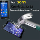2.6 MM HD Clear Tempered Glass Screen Protector For SONY Z1 Z2 Z3 M2 WATERPROOF