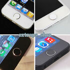2Pcs Metal Aluminum Home Button Sticker For iPhone 6 6S 6 Plus 5 5S 4 4S iPad 2