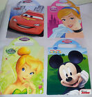4 x DISNEY CARRY-ALONG ACTIVITIES  *4 DESIGNS* GIFT PARTY STATIONERY