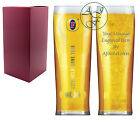 Personalised Engraved 1 Pint Fosters Branded Lager Glass Christmas Xmas Gift