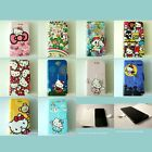 FI01 Japanese Cartoons Character Flip Cover Mobile Smartphone iPhone Phone Case