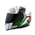 Scorpion EXO-R710 Crystal Red/Green Full Face Motorcycle Helmet