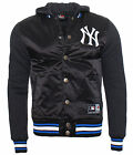 Majestic Besson College Jacke New York Yankees mit Kapuze Baseball
