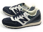New Balance WR996NP D Tartan Check Navy & Grey & White Classic Retro Sneakers NB