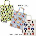 ULSTER WEAVERS Animal Printed PVC Coating Cotton Tote Bags F/S from Japan