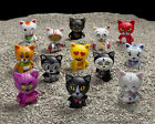 "Kidrobot TRICKY CATS 3"" VINYL ART FIGURE *YOU CHOOSE cat dunny munny trikky"