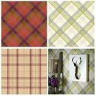 TARTAN PLAID CHECKED WALLPAPER – IDEAL FOR FEATURE WALLS