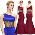 VINTAGE Style Long Bridesmaid Evening Formal Party Ball Gown Prom Wedding Dress