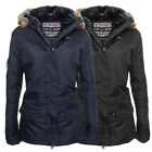 Geographical Norway Atlas Lady Winter Jacke Parka Outdoor Damen Winterjacke