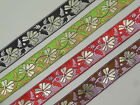 "1 yd Jacquard Trim 1.20"" wide Woven Border Sew  Ribbon Lace T613"