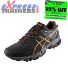 Asics Mens Gel Sonoma All Terrain Trail Running Shoes Trainers Black *AUTHENTIC*