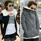 Womens Thick Warm Winter Coat Hood Parka Overcoat Long Jacket Outwear Sweatshirt