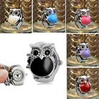 Fashion Creative Womens Watches Retro Owl Finger Clamshell Ring Watch Gift New image