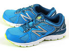 New Balance M560LY6 2E Blue & Silver & White Sportstyle Cushion Running Shoes NB