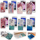 Animal Patterned Print Glitter Bling Liquid Dynamic Clear Hard Case For iPhone 6