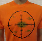 Narcotics Anonymous - FREEDOM IN CROSSHAIRS T-shirt Orange 100% cotton - S-3X