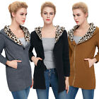 New Lady Winter Women Thicken Warm Coat Hood Korean Long Jacket Overcoat  S-XL