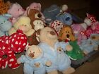 NWT & Used 56 Different TY PLUFFIES Plush Stuffed Animals {Each Sold Separate}