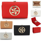 Ladies Fashion Designer Purses Wallet Coin Women's Faux Leather Purse Bag