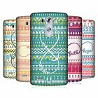 HEAD CASE DESIGNS AZTECO INFINITY COVER RETRO RIGIDA PER LG TELEFONI 1