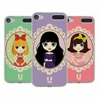 HEAD CASE DESIGNS BAMBOLE COVER MORBIDA IN GEL PER APPLE iPOD TOUCH MP3