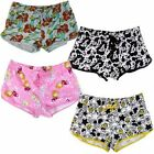 Women's Licensed PJ Shorts, Mickey, Frozen, Minions, Sizes: S, M, L & XL, BNWT