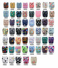 U pick Lot Alva baby Washable Reusable Cloth Pocket Diaper Nappy+1Insert 6-33lbs