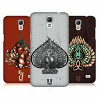 HEAD CASE DESIGNS WINGS AND SPADES HARD BACK CASE FOR SAMSUNG PHONES 4