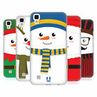 HEAD CASE DESIGNS MR SNOWMAN HARD BACK CASE FOR LG PHONES 2