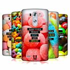HEAD CASE DESIGNS SUGARY THOUGHTS HARD BACK CASE FOR LG PHONES 1