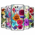 HEAD CASE DESIGNS WATERCOLOURED FLOWERS HARD BACK CASE FOR LG PHONES 1