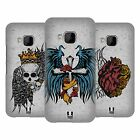 HEAD CASE DESIGNS TATTOO WINGS HARD BACK CASE FOR HTC PHONES 1