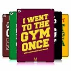 HEAD CASE DESIGNS FUNNY WORKOUT STATEMENTS HARD BACK CASE FOR APPLE iPAD