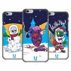 HEAD CASE DESIGNS CHRISTMAS ZOMBIES HARD BACK CASE FOR APPLE iPHONE PHONES