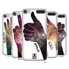 HEAD CASE DESIGNS HAND GESTURE NEBULA HARD BACK CASE FOR APPLE iPOD TOUCH MP3