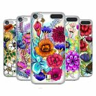 HEAD CASE DESIGNS WATERCOLOURED FLOWERS HARD BACK CASE FOR APPLE iPOD TOUCH MP3