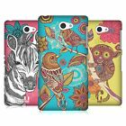 HEAD CASE DESIGNS FANCIFUL INTRICACIES HARD BACK CASE FOR SONY PHONES 4
