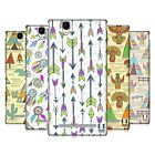 HEAD CASE DESIGNS NATIVE INDIAN DOODLES HARD BACK CASE FOR SONY PHONES 3