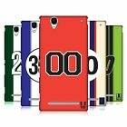 HEAD CASE DESIGNS SPEED MARKINGS HARD BACK CASE FOR SONY PHONES 3