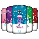 HEAD CASE DESIGNS CHRISTMAS TIDINGS HARD BACK CASE FOR SAMSUNG PHONES 5