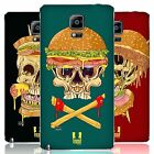 HEAD CASE DESIGNS SKULL SANDWICHES BATTERY COVER FOR SAMSUNG PHONES 1
