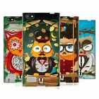 HEAD CASE DESIGNS FANCIFUL OWLS SOFT GEL CASE FOR BLACKBERRY PHONES