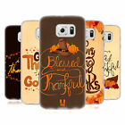 HEAD CASE DESIGNS THANKSGIVING TYPOGRAPHY SOFT GEL CASE FOR SAMSUNG PHONES 1