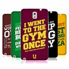 HEAD CASE DESIGNS FUNNY WORKOUT STATEMENTS SOFT GEL CASE FOR SAMSUNG PHONES 2